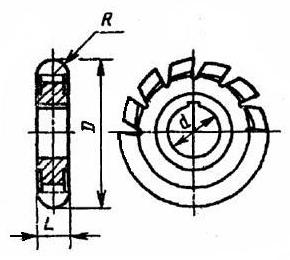 борфреза овальный e 10x16x6x60
